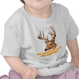 Real Environmentalists Are Hunters Shirt