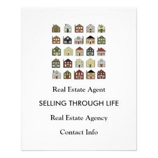 Real Estate Agency 11.5 Cm X 14 Cm Flyer