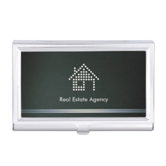 Real Estate Agency Business Cards Holder Business Card Case