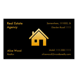 Real Estate Agency Pack Of Standard Business Cards