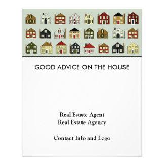 Real Estate Agent 11.5 Cm X 14 Cm Flyer