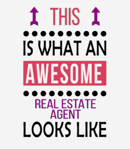 Real Estate Agent Awesome Looks Cool Birthday Gift T Shirt