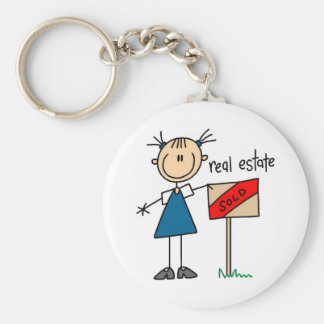 Real Estate Agent Key Chain