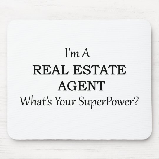 REAL ESTATE AGENT MOUSE MAT