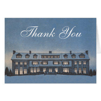 Real Estate Agent or Mortgage Broker Thank You Greeting Card