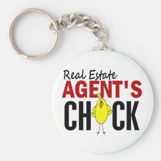 REAL ESTATE AGENT'S CHICK KEY CHAINS
