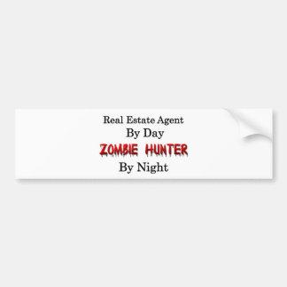 Real Estate Agent/Zombie Hunter Bumper Sticker