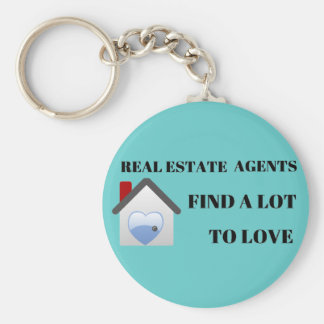 Real Estate Agents Find a Lot to Love Key Chain