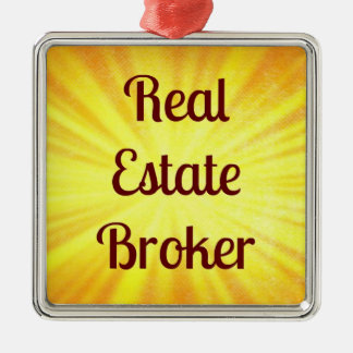 Real Estate Broker Christmas Ornament
