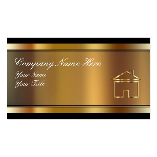 Real estate business cards zazzle for Zazzle business card