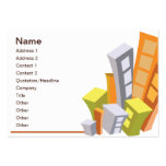 Real Estate - Chubby Large Business Cards (Pack Of 100)