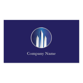Real Estate Commercial Business Cards