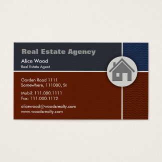 Real Estate | Home Business Card