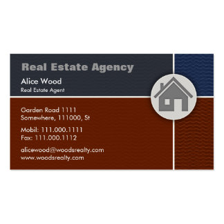 Real Estate | Home Pack Of Standard Business Cards