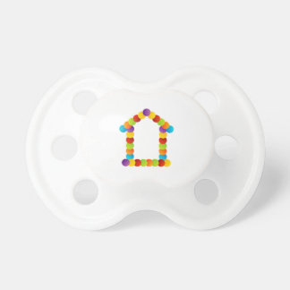 Real estate house baby pacifier