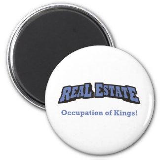Real Estate / King 6 Cm Round Magnet