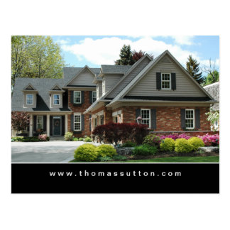 Real Estate Postcards Pretty Garden House