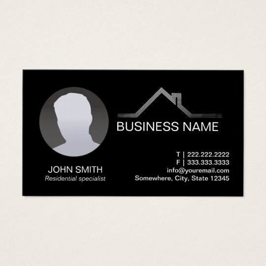 Real Estate Professional Custom Photo Business Card