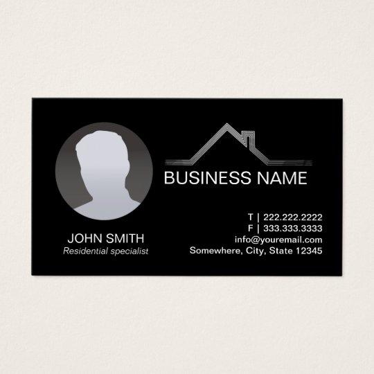 Real Estate Professional Custom Photo Business Card