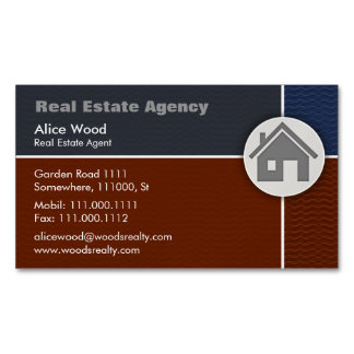 Real Estate | Professional Magnetic Business Cards