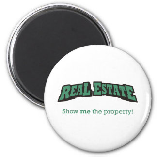 Real Estate / Property 6 Cm Round Magnet