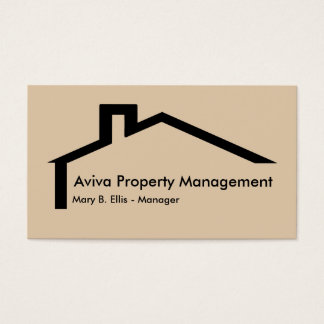 290 property management business cards and property for Business card management