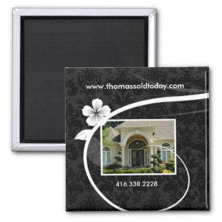 Real Estate Realtor Custom Fridge Magnet Floral