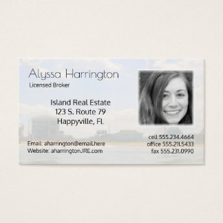 Real Estate Realtor Photo Business Business Card