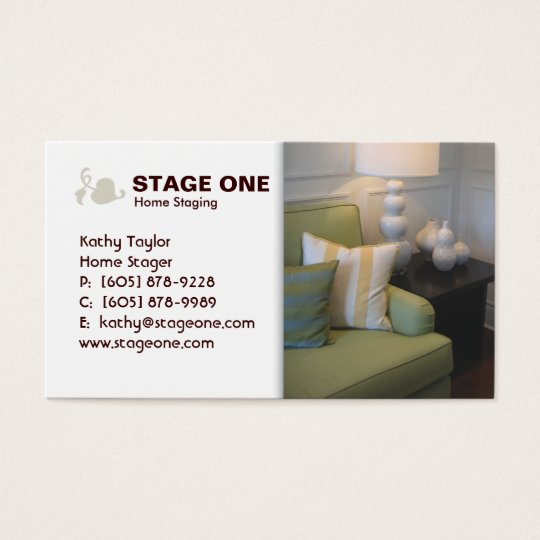 Real Estate / Staging Interior Business Card