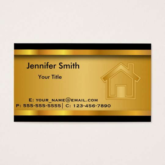 Real Estate Template Business Card