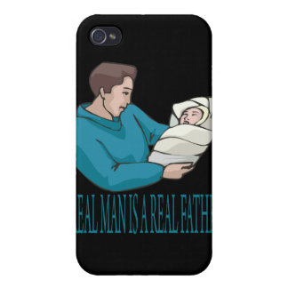 Real Father Cover For iPhone 4