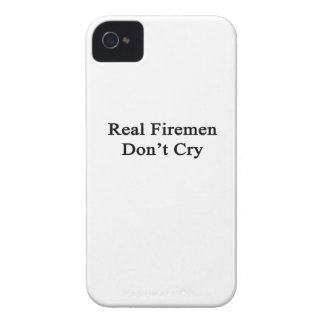 Real Firemen Don't Cry Case-Mate iPhone 4 Case