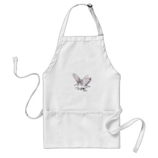 Real Flying Pig Popular Gift When Pigs Fly w Wings Standard Apron