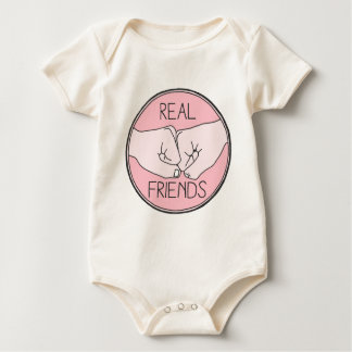 Real Friends Baby Bodysuit