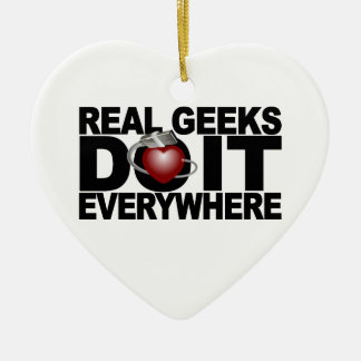 Real Geeks ornament - customize