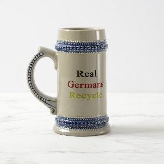 Real Germans Recycle Beer Steins