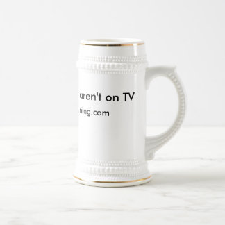 Real Ghost Hunters aren't on TV, http://ghosthu... Beer Steins