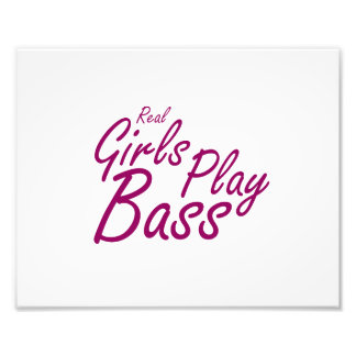 Real Girls Play Bass 2 purple Photo