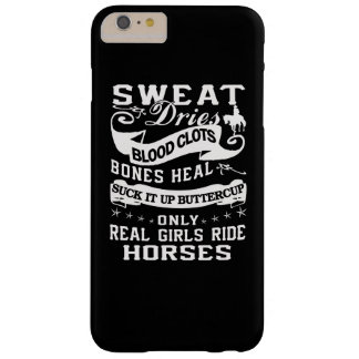 Real Girls Ride Horses Barely There iPhone 6 Plus Case