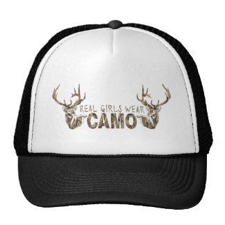 REAL GIRLS WEAR CAMO MESH HAT