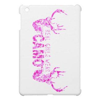 REAL GIRLS WEAR CAMO iPad MINI COVER