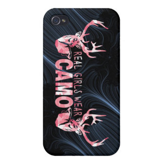 REAL GIRLS WEAR CAMO iPhone 4/4S CASE