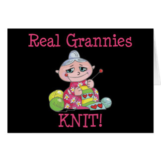 Real Grannies KNIT Cards