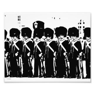 Real guard photo print