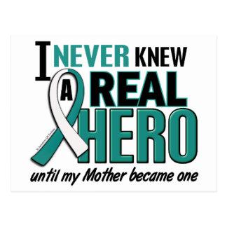 Real Hero 2 Mother Cervical Cancer Postcard