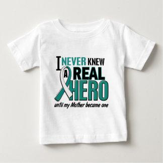 Real Hero 2 Mother Cervical Cancer Shirts