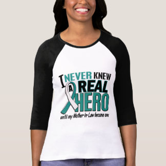 Real Hero 2 Mother-In-Law Cervical Cancer Shirts