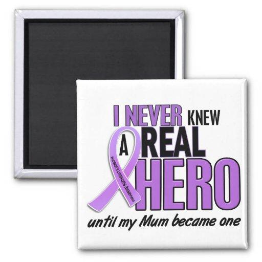 REAL HERO 2 Mum HODGKIN'S DISEASE T-Shirts Magnets