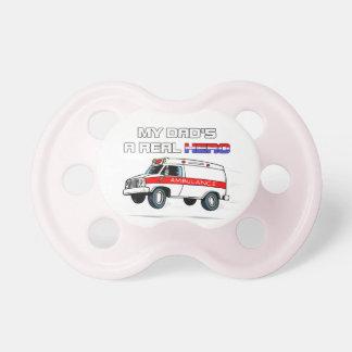 Real Hero EMT Pacifier