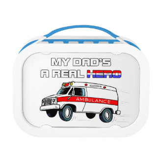 Real Hero EMT Lunch Box